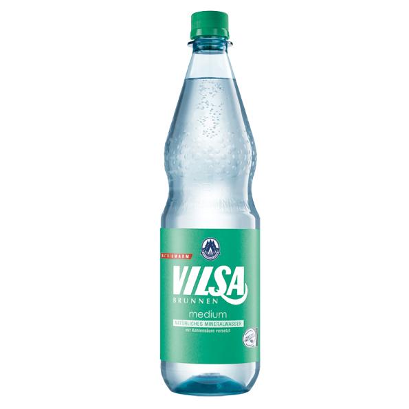 Vilsa – Medium 1,0L PET-Flasche Mehrweg