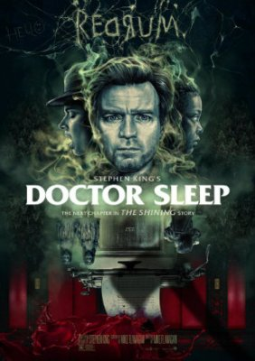 Poster of Doctor Sleep 2019 Full Hindi Movie Download Dual Audio Hindi Dubbed Watch Free Movie Online Hd