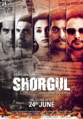 Poster of Shorgul 2016 Full Hindi Movie Download HDRip 720p