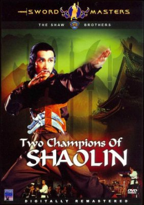Poster of Two Champions of Shaolin 1980 HDRip 720p Dual Audio In Hindi English