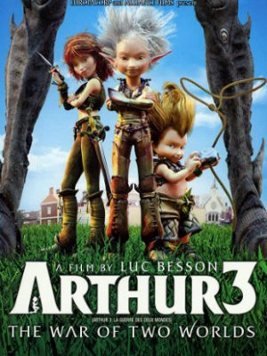 Arthur 3 The War of the Two Worlds 2010 BRRip 900MB Hindi Dual Audio 720p