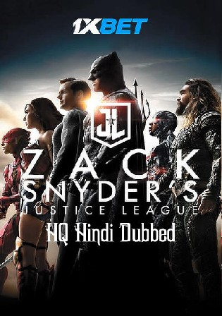 Justice League Snyder Cut 2021 WEBRip 1.8GB Hindi (HQ) Dual Audio 720p Watch Online Full Movie Download bolly4u
