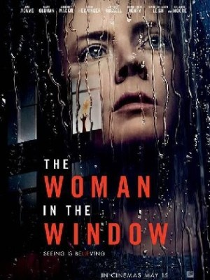 The Woman In The Window 2021 WEB-DL 350Mb Hindi Dual Audio 480p