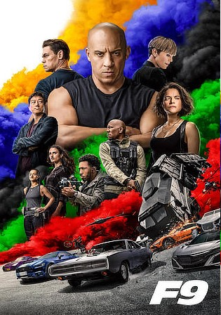 Fast and Furious 9 2021 WEB-DL 500MB Hindi CAM Cleaned Dual Audio 480p Watch Online Full Movie Download bolly4u