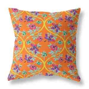 Rose Garden Indoor Throw Pillow
