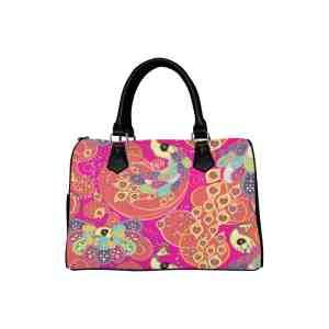 Summer Peacock Handbag