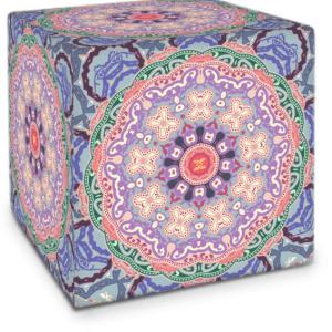 Baroque Mandala Cube
