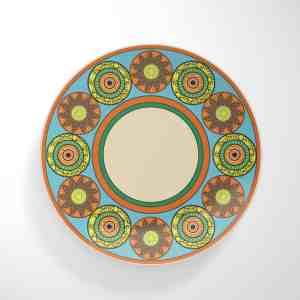 Flower Wheels Dinnerware Plate