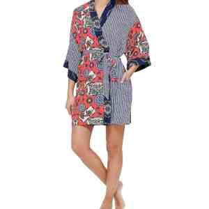 Dreaming Fish Kimono Robe