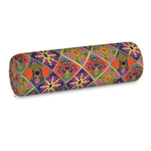 The Reverse Square Patch Bolster Cushion