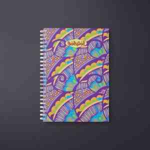 Henna Flower Notebook