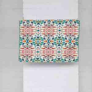 Sword Leaf Flower Design Dish Towel