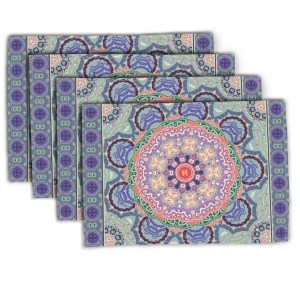Baroque Mandala 1 Placemat
