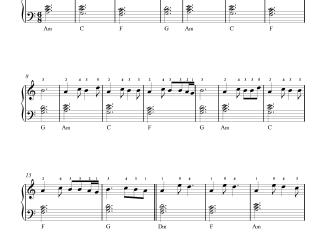 Bekhayali - Kabir Singh (Easy) piano notes