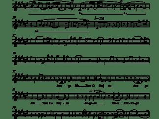 Aaoge Jab Tum - Jab We Met flute / violin notes