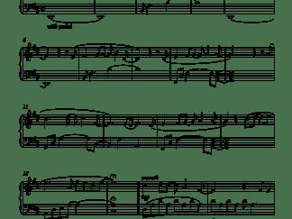 Intezaar Advanced Piano Notes