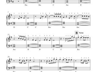 Bhula Dena - Aashiqui 2 easy piano notes