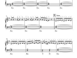 Inkem Inkem Inkem Kaavaale - Geetha Govindam easy piano notes