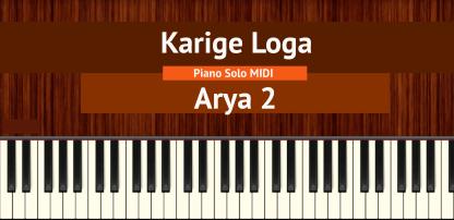 Karige Loga - Piano Solo MIDI