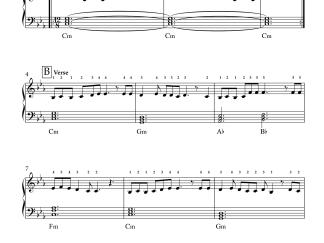 Pona Pogattum - Master easy piano notes