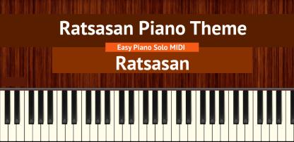 Ratsasan Piano Theme Easy Piano Solo MIDI