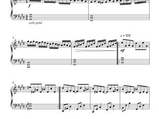 Mouna Ragam BGM - Mouna Ragam advanced piano notes