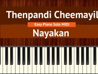 Thenpandi Cheemayile - Nayakan Easy Piano Solo MIDI