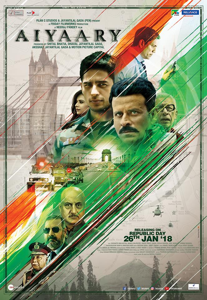 Intriguing first look of Aiyaary