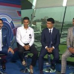 Akshay Kumar is with Star Sports' experts, former captain and legend Sourav Ganguly and Spin King Harbhajan Singh
