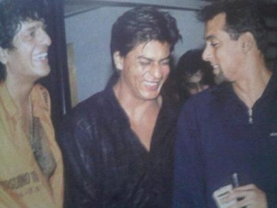 Salman and Shah Rukh Khan when they were really, really good friends