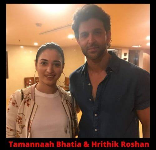 Tamannaah Bhatia and Hrithik Roshan