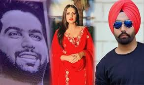 Himanshi Khurana with Ammy Virk and Chow