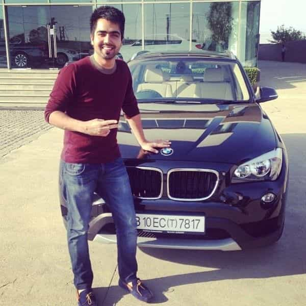 Hardy Sandhu BMW