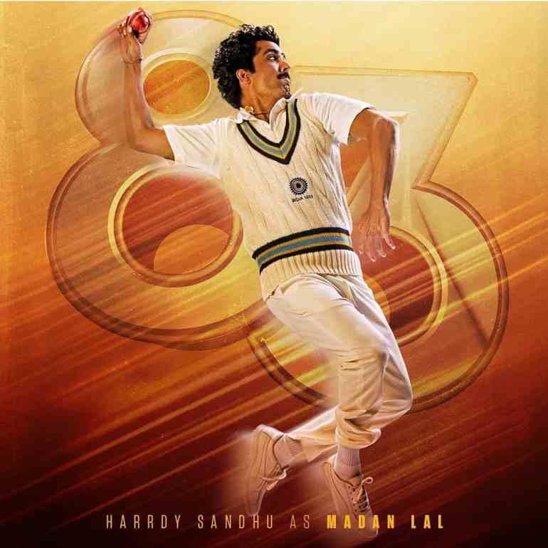 Hardy Sandhu in 83 movie