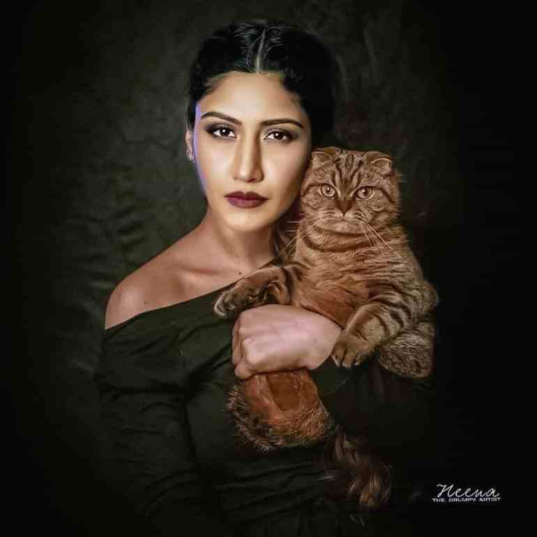 Surbhi Chandna pet lover