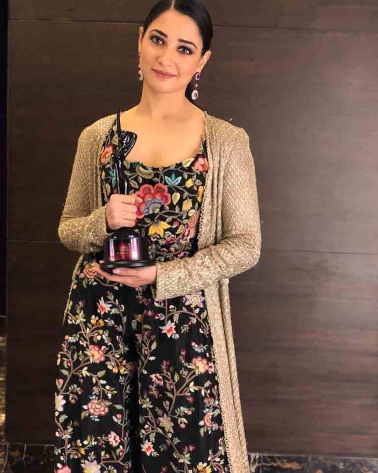 Tamannaah bhatia Award