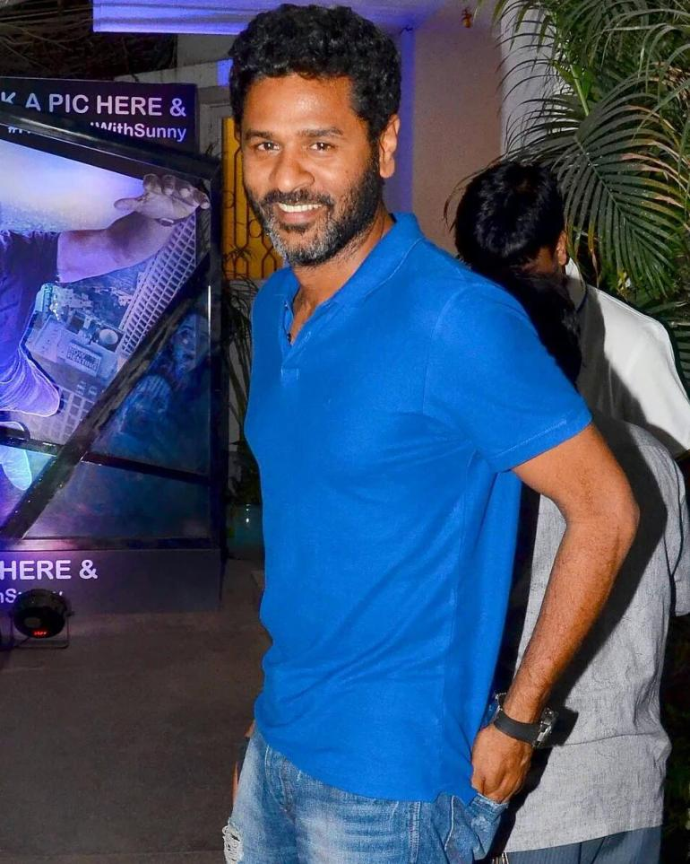 Actor Prabhu Deva