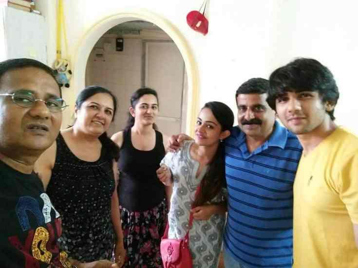 Apoorva Arora Family