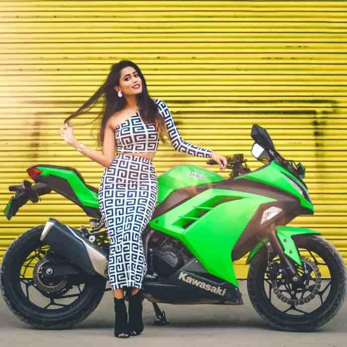 Gima Ashi Love Sport bike