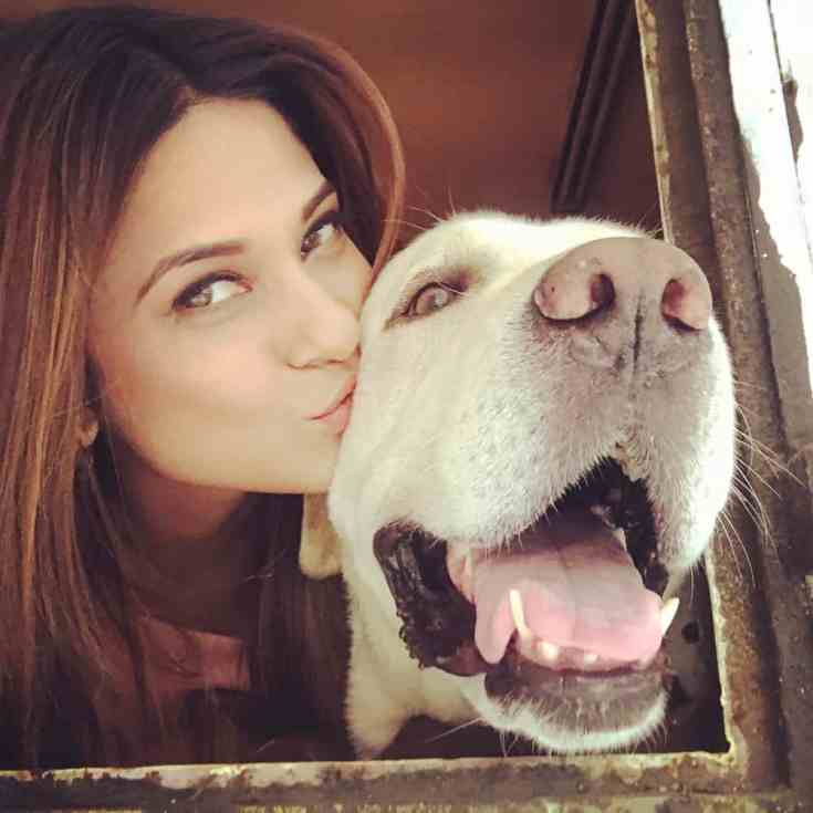 Jennifer Winget Animal Lover