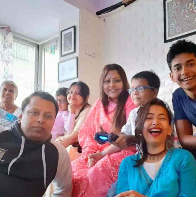 Shweta Basu Prasad Family