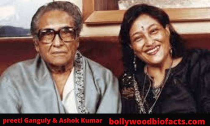 Preeti Ganguly with her father