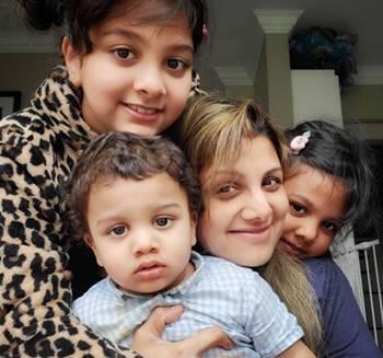 Rambha-with-her-childrens