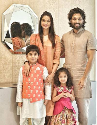 Allu-Arjun-with-wife-and-childrens