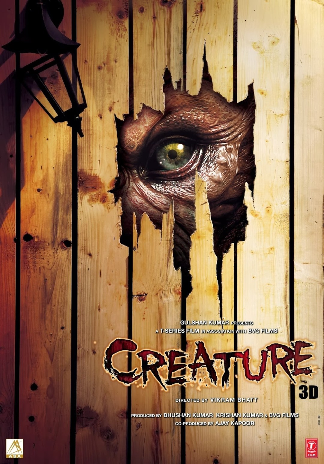 Creatures poster is copied from Jeepers Creepers