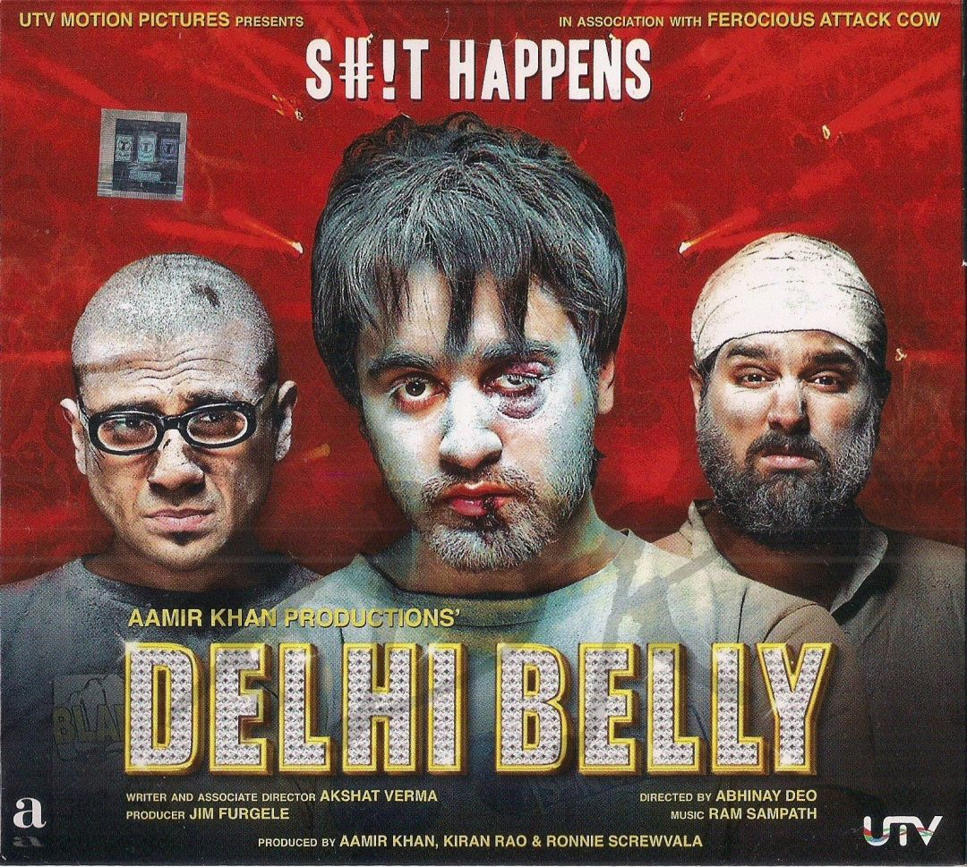 Delhi Belly poster is copied from The Hangover