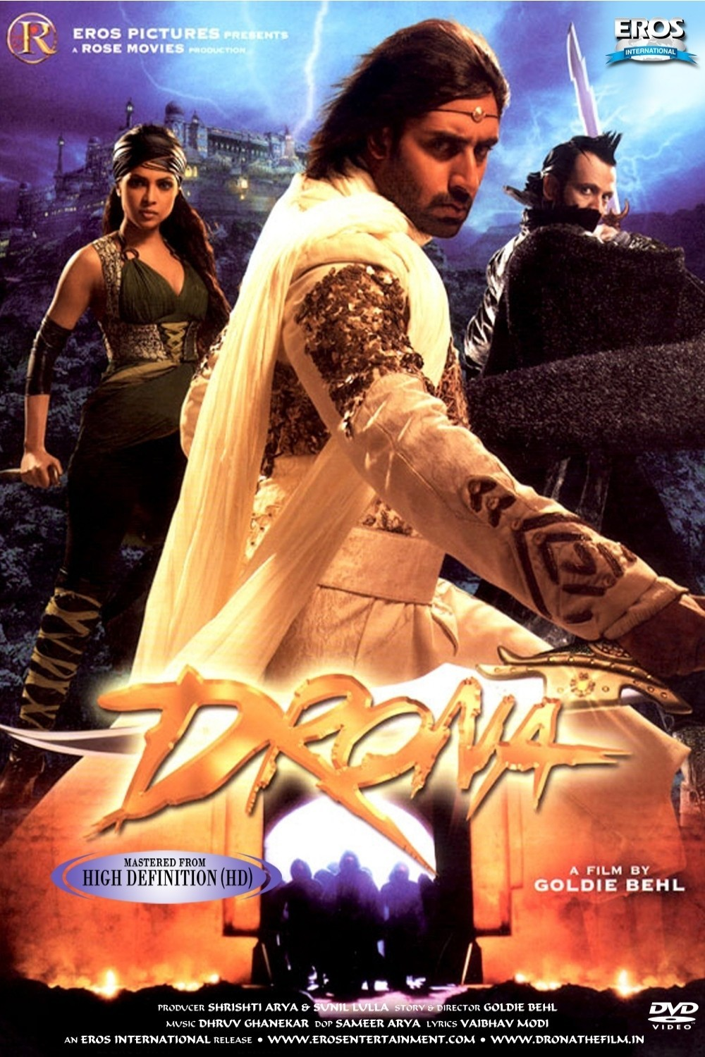 Drona poster is copied from Price of Persia