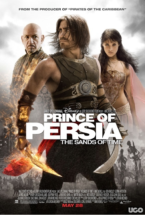 Price of Persia  poster is copied by Drona