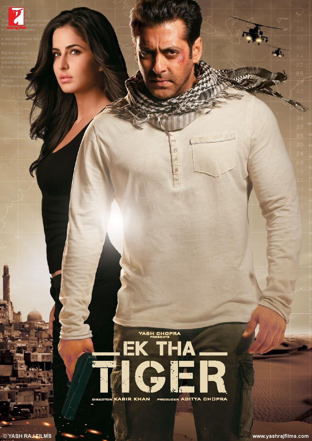 Ek Tha Tiger poster is copied from Uncharted 3 (Video Game)