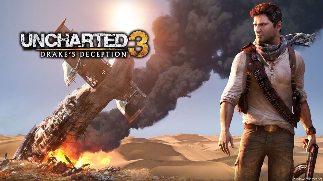 Uncharted 3 (Video Game)  poster is copied by Ek Tha Tiger